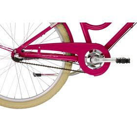 """Ortler Bricktown - Vélo enfant - 24"""" rose/rouge"""